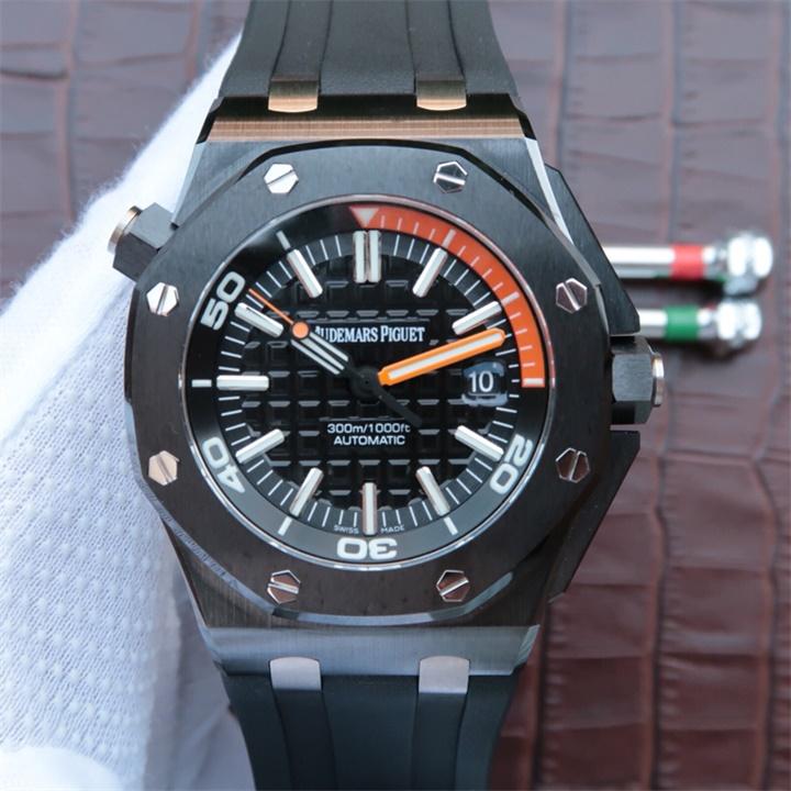 【JF厂一比一超A版】AP爱彼皇家橡树离岸型系列15707CE.00.A002CA.01男士自动机械精仿手表