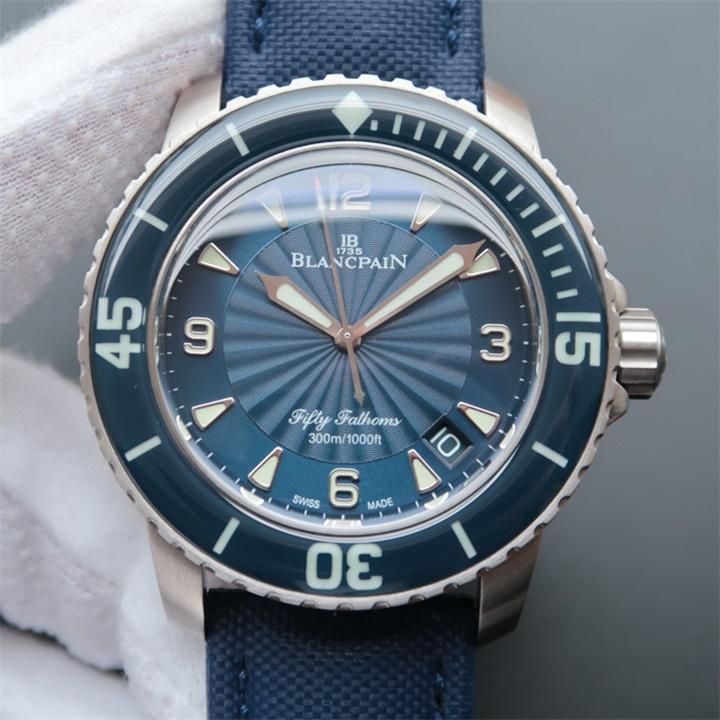 【N厂超A】宝珀Blancpain五十噚5015-1140-52B男士自动机械精仿手表