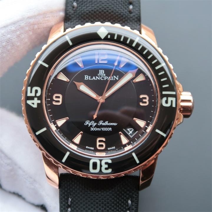 【N厂超A】宝珀Blancpain五十噚5015-3630-52男士自动机械精仿手表