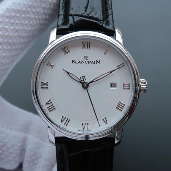 宝珀经典系列6651-1127-55B男士自动机械一比一精仿手表【白盘】
