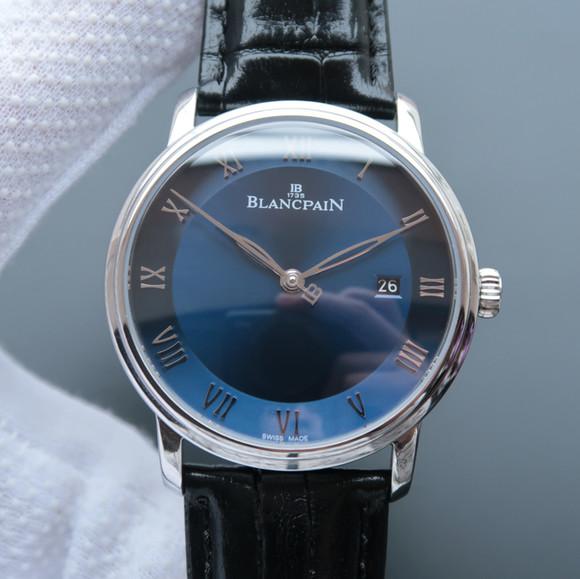 宝珀经典系列6651-1127-55B男士自动机械一比一精仿手表【蓝色】