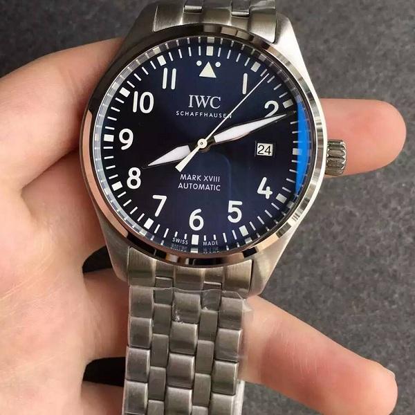 【MK厂超A】万国(IWC)飞行员系列马克十八小王子限量版IW327014钢带男士一比一精仿手表