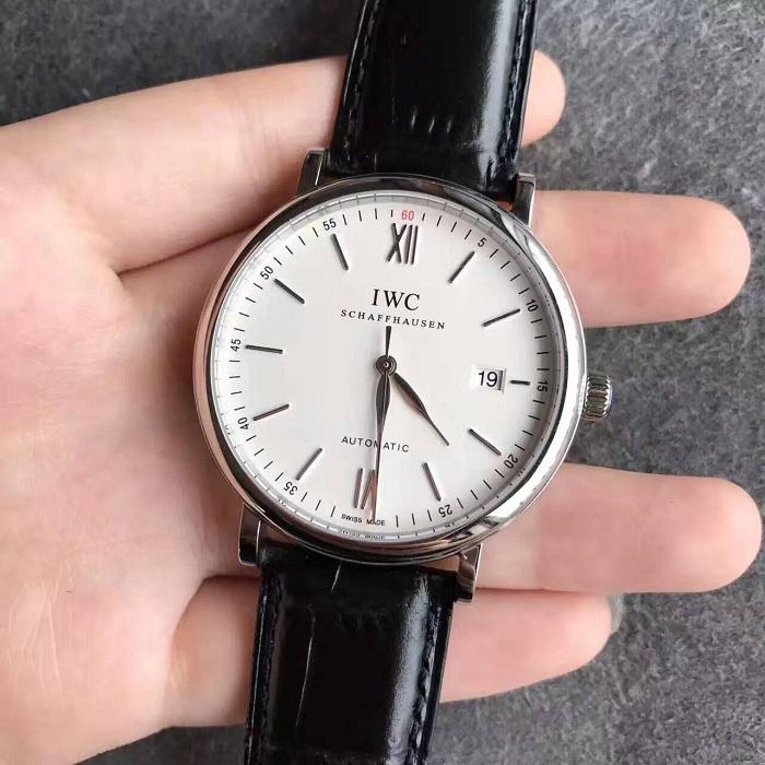 【MK厂V4版超A】万国(IWC)柏涛菲诺系列IW356501白面皮带版一比一精仿手表