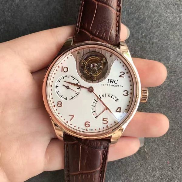 【TF厂】万国(IWC)葡萄牙系列动能显示陀飞轮一比一精仿手表