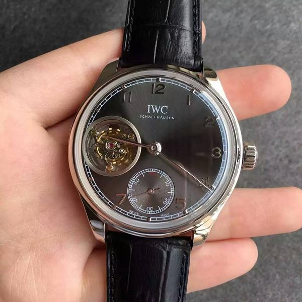 【TF厂】万国(IWC)葡萄牙系列陀飞轮灰色面一比一精仿手表