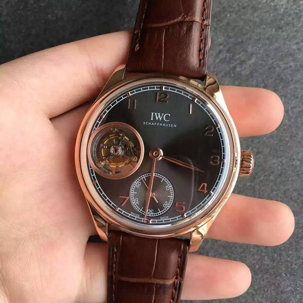 【TF厂】万国(IWC)葡萄牙系列陀飞轮灰色面金壳一比一精仿手表