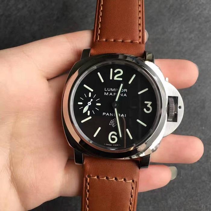 沛纳海(Panerai)LUMINOR系列PAM00005/PAM005男士手动机械精仿手表