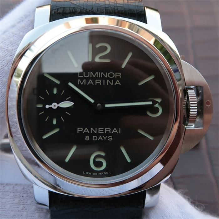 【JF厂超A精仿手表】沛纳海(Panerai)Luminor系列PAM00510/PAM510男士手动机械精仿手表