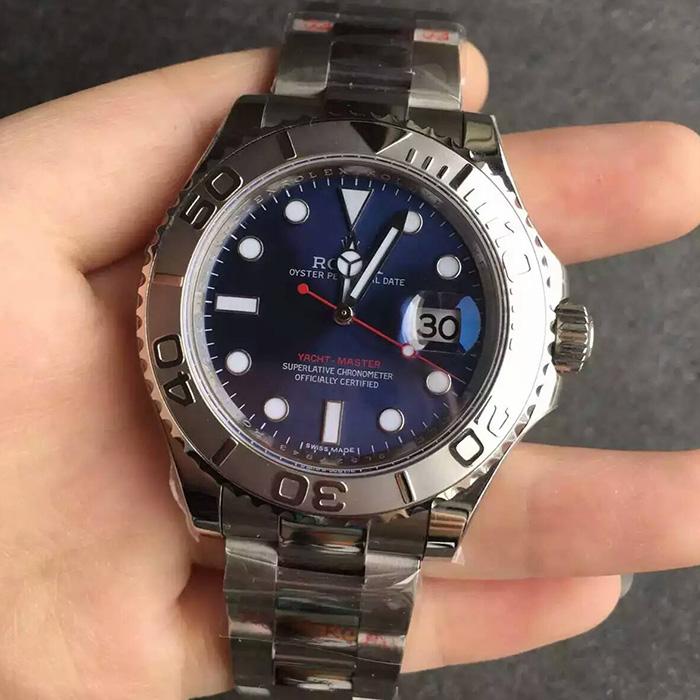 【N厂超A】劳力士(Rolex)游艇名仕型系列蓝面116622男士自动机械一比一精仿手表