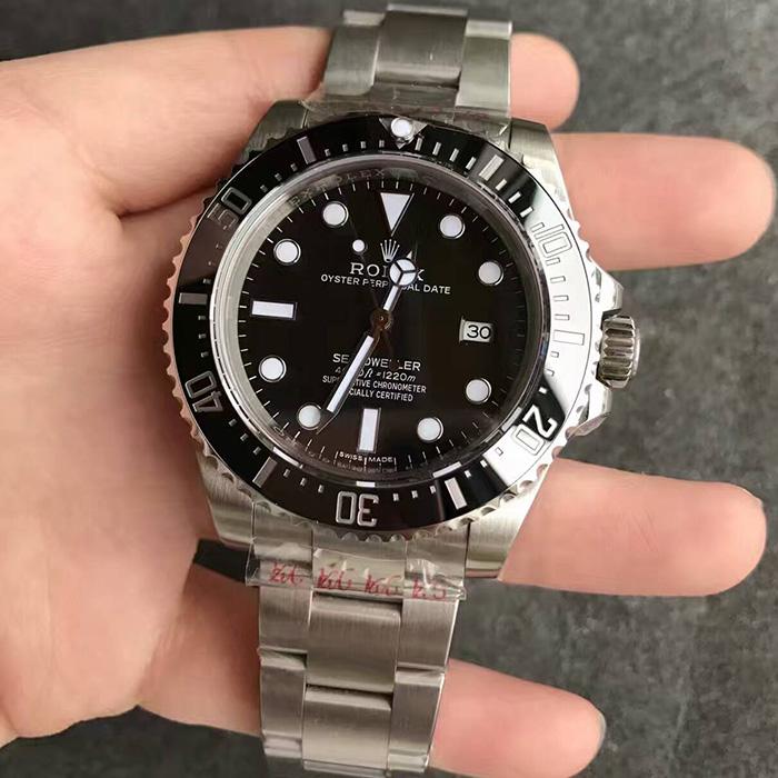 【N厂V7超A】劳力士(Rolex)小鬼王海使型4000一比一复刻116600男士自动机械精仿手表