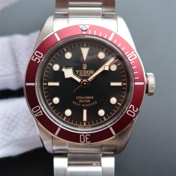 帝舵(Tudor)/帝陀/帝驼小红花V5版79220R男士自动机械精仿手表