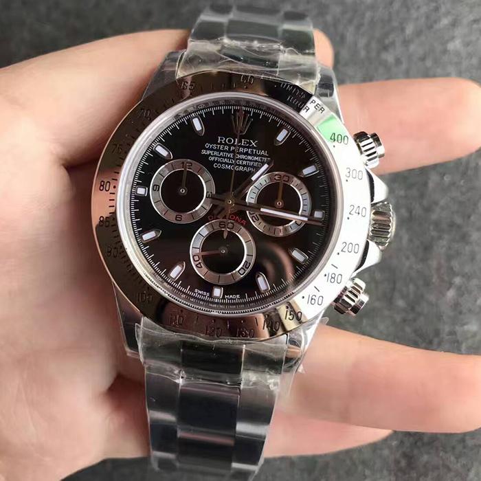 【N厂】劳力士(Rolex)迪通拿黑钢迪116520-78590自动机械精仿男表