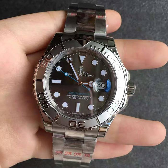 【N厂超A】劳力士(Rolex)游艇名仕型系列灰面蓝针116622男士自动机械一比一精仿手表